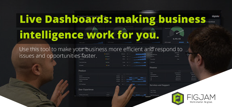 5 advantages of using Live Dashboards
