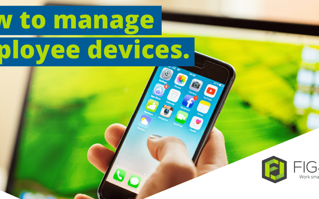 How to manage employee devices