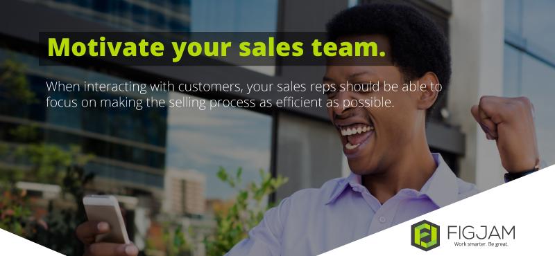 FIGJAM: Motivating Your Sales Team